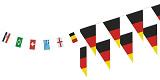 Wimpelketten und Flaggen