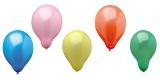Luftballons uni-farbig
