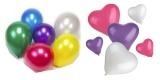 Luftballons farbig sortiert
