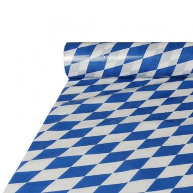 Tischdecke, Folie 20 m x 1 m -Bayrisch Blau-