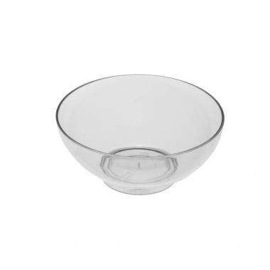 50 Fingerfood - Schalen rund Ø 7,2 cm 3 cm glasklar