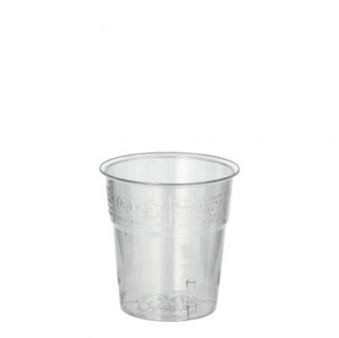 50 Trinkbecher, PS 0,1 l Ø 6 cm 6,7 cm glasklar