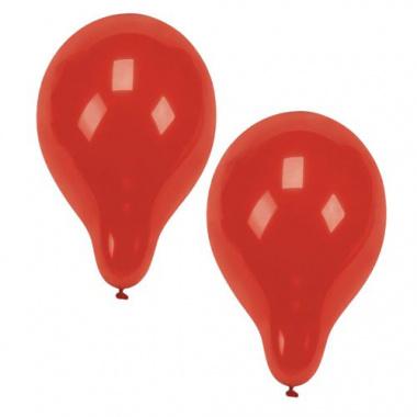 10 Luftballons Ø 25 cm rot