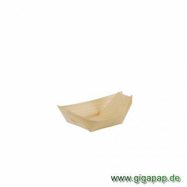 50 Fingerfood - Schalen, Holz 11 cm x 6,5 cm