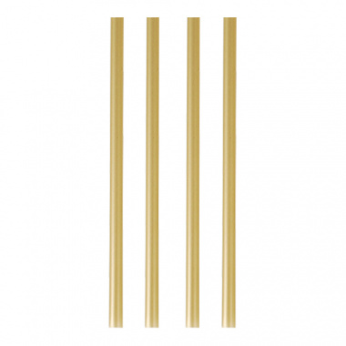 135 Shake-Halme Ø 8 mm 25 cm gold