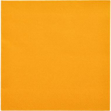 50 Servietten -ROYAL Collection- 1/4-Falz 40 cm x 40 cm orange