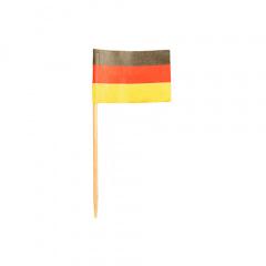 200 Deko-Picker 8 cm -Deutschland-