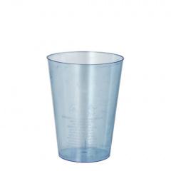 50 Trinkbecher, PS 0,2 l Ø 7,5 cm 9,7 cm hellblau