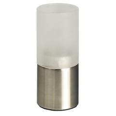 Kerzenhalter, Edelstahl Ø 5 cm 12 cm für Teelichte