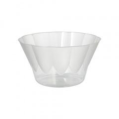 10 Eis- und Dessertschalen rund 400 ml Ø 12 cm 7 cm glasklar