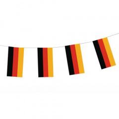 Flaggenkette, Papier 4 m -Deutschland- schwer entflammbar