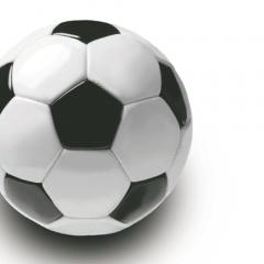 20 Servietten, 3-lagig 1/4-Falz 33 cm x 33 cm -Soccer-