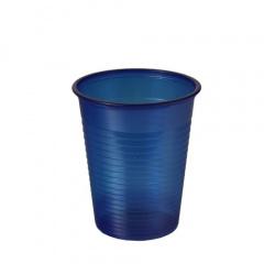 100 Trinkbecher, PS 0,18 l Ø 7,03 cm 8,3 cm dunkelblau