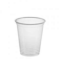 50 Trinkbecher -Hurricane-, PET 0,3 l Ø 9,5 cm 10,5 cm glasklar