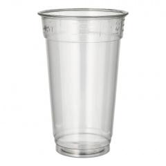50 Trinkbecher -Hurricane-, PET 0,5 l Ø 9,5 cm 15 cm glasklar