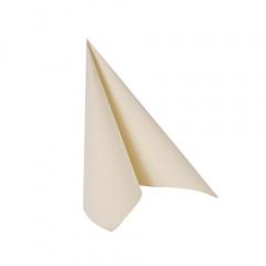 50 Servietten -ROYAL Collection- 1/4-Falz 25 cm x 25 cm champagner