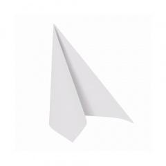 50 Servietten -ROYAL Collection- 1/4-Falz 25 cm x 25 cm weiss