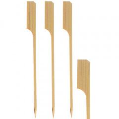 150 Grill-Spieße 25 cm aus Bambus