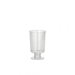 20 Stiel-Gläser für Schnaps, PS 4 cl Ø 3,8 cm 6,3 cm glasklar einteilig