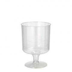 10 Stiel-Gläser für Rotwein, PS 0,2 l Ø 7,2 cm 10,1 cm glasklar einteilig