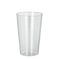50 Trinkbecher, PS 0,3 l Ø 7,9 cm 11,9 cm glasklar