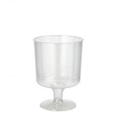 10 Stiel-Gläser für Rotwein, PS 0,2 l Ø 7 cm 10 cm glasklar