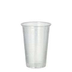 100 Trinkbecher, PP 0,2 l Ø 7,03 cm 9,9 cm transparent