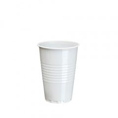 100 Trinkbecher, PS automatengängig 0,2 l Ø 7,03 cm 9,65 cm weiss