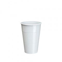 100 Trinkbecher, PS -Economy- 0,2 l Ø 7,03 cm 9,9 cm weiss