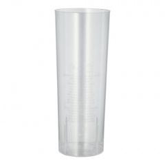 10 Gläser für Longdrinks, PS 0,3 l Ø 5,85 cm 15,2 cm glasklar