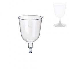 50 Stiel-Gläser (Oberteile) für Weisswein, PS 0,1 l Ø 6,7 cm 10,7 cm glasklar