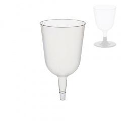 50 Stiel-Gläser (Oberteile) für Rotwein, PS 0,2 l Ø 7,3 cm 12,5 cm glasklar
