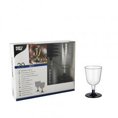 20 Stiel-Gläser für Weisswein, PS -Invitation- 0,1 l Ø 6,7 cm 11 cm glasklar