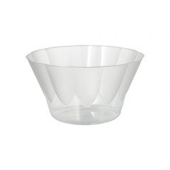 20 Eis- und Dessertschalen -Invitation- rund 400 ml Ø 12 cm 7 cm glasklar