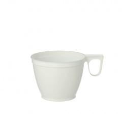 60 Kaffeetassen, PS Kunstoff 0,18 l Ø 7,8 cm 6 cm weiss