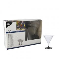 20 Stiel-Gläser für Cocktails, PS -Invitation- 0,1 l Ø 9 cm 11 cm glasklar