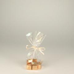 10 Bodenbeutel, PP 16 cm x 9,5 cm x 4 cm transparent
