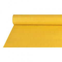 Papiertischtuch mit Damastprägung 50 m x 1 m gelb