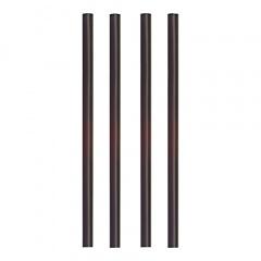 135 Shake-Halme Ø 8 mm 25 cm schwarz