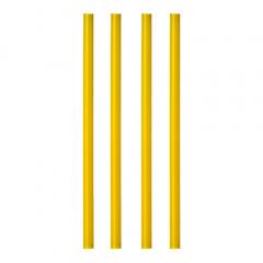 135 Shake-Halme Ø 8 mm 25 cm gelb