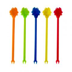 100 Longdrink-Sticks 15,5 cm farbig sortiert -Yacht-