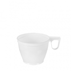 10 Kaffeetassen, PS 0,18 l Ø 7,8 cm 6 cm weiss