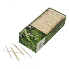 1800 Zahnstocher, Holz rund 6,8 cm
