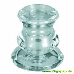 Kerzenhalter, Glas Ø 56 mm 61 mm für Leuchterkerzen