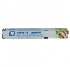 Alufolie 10 m x 30 cm in Faltschachtel