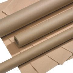 Packpapier 25 m x 0,7 m braun auf Rolle