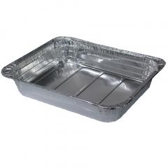 3 Gastronorm-Behälter, Alu eckig 3,4 l 32,5 cm x 26,5 cm x 5,5 cm 1/2