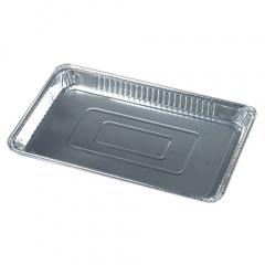 3 Gastronorm-Behälter, Alu eckig 5,2 l 52,7 cm x 32,6 cm x 3,7 cm 1/1