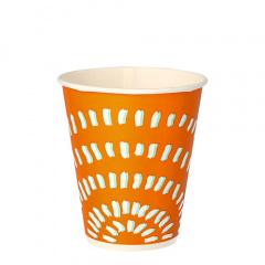 100 Trinkbecher, Pappe 0,25 l Ø 8,97 cm 10 cm weiss
