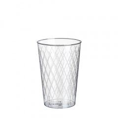 50 Gläser für Apfelwein, PS 0,25 l Ø 7 cm 10,5 cm glasklar